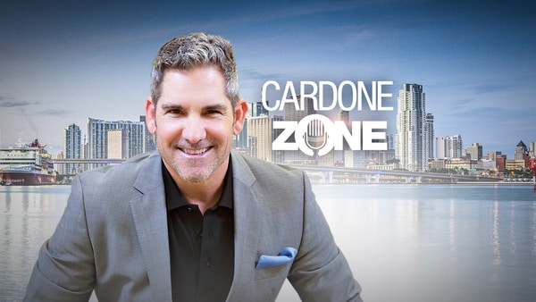 cardone zone podcast with a snapshot of grant cardone
