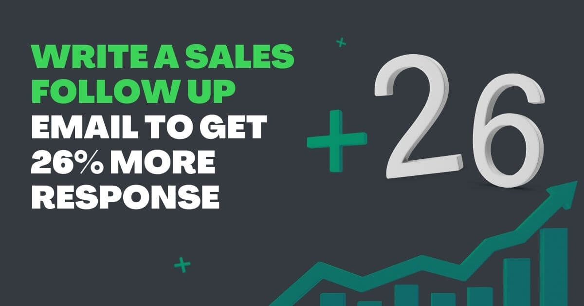 How to Write Sales Follow Up Email to Increase Response?