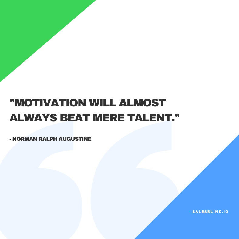 motivational quote by Norman Ralph Augustine