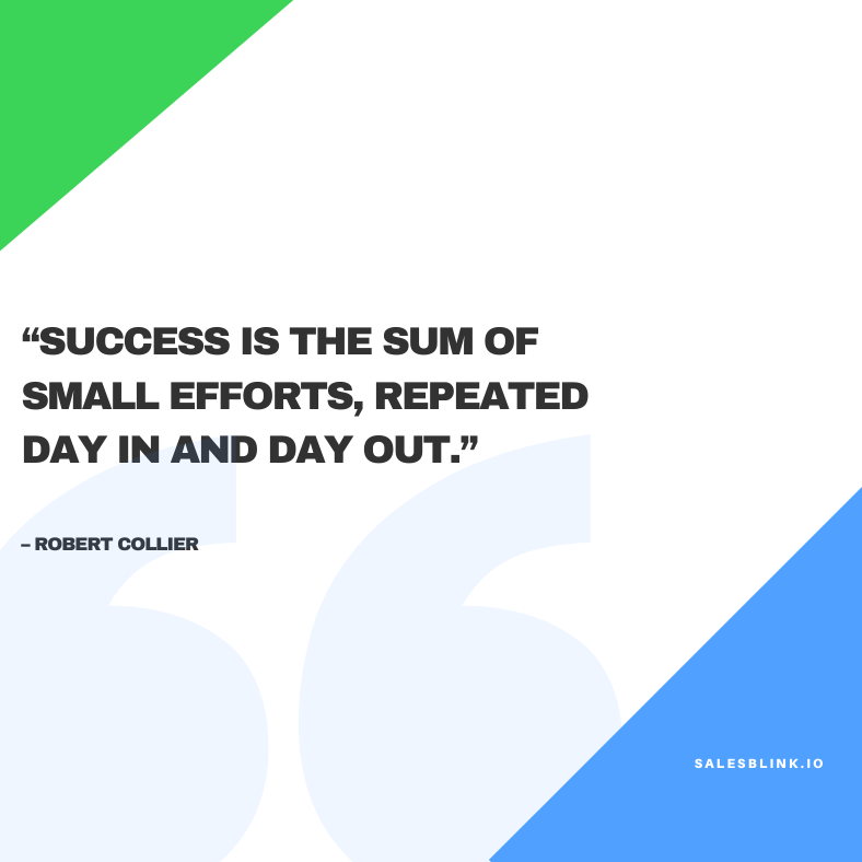 motivational quote by Robert Collier