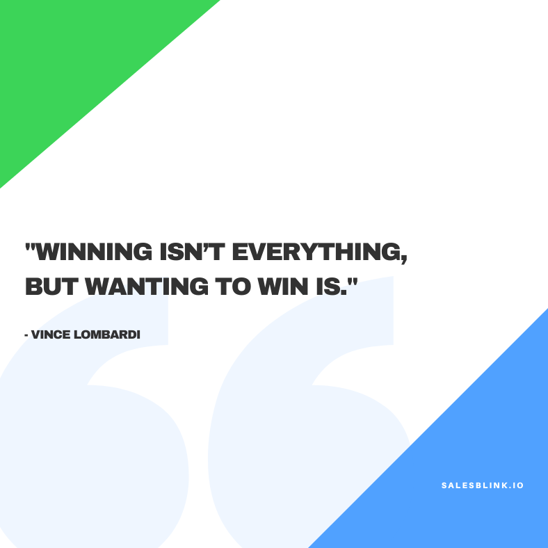 motivational quote by Vince Lombardi