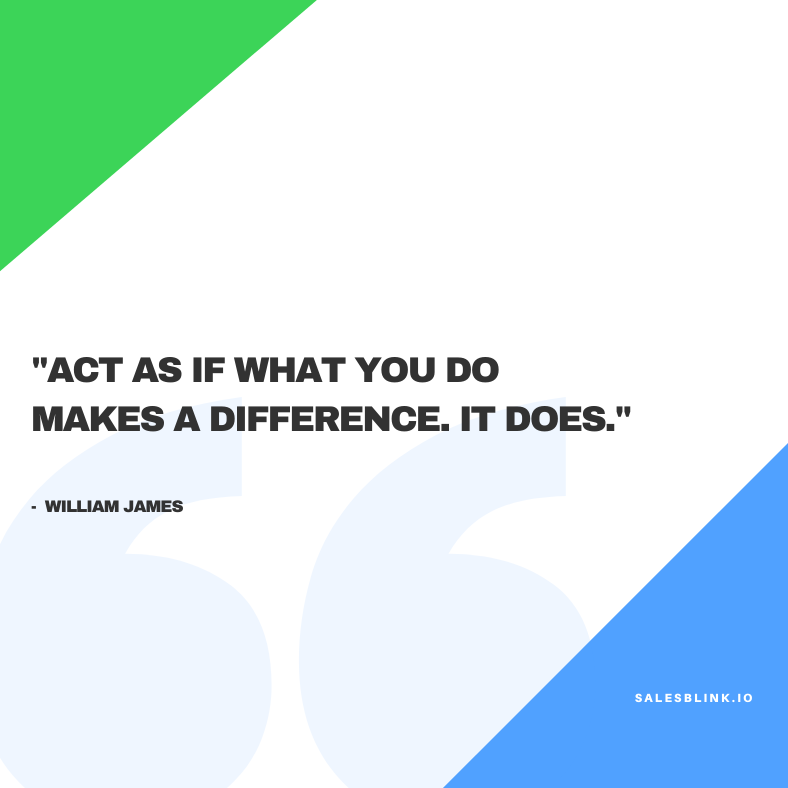 motivational quote by William James