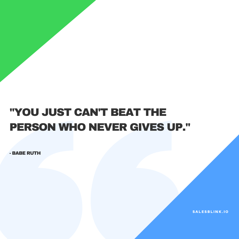 inspirational quote by Babe Ruth