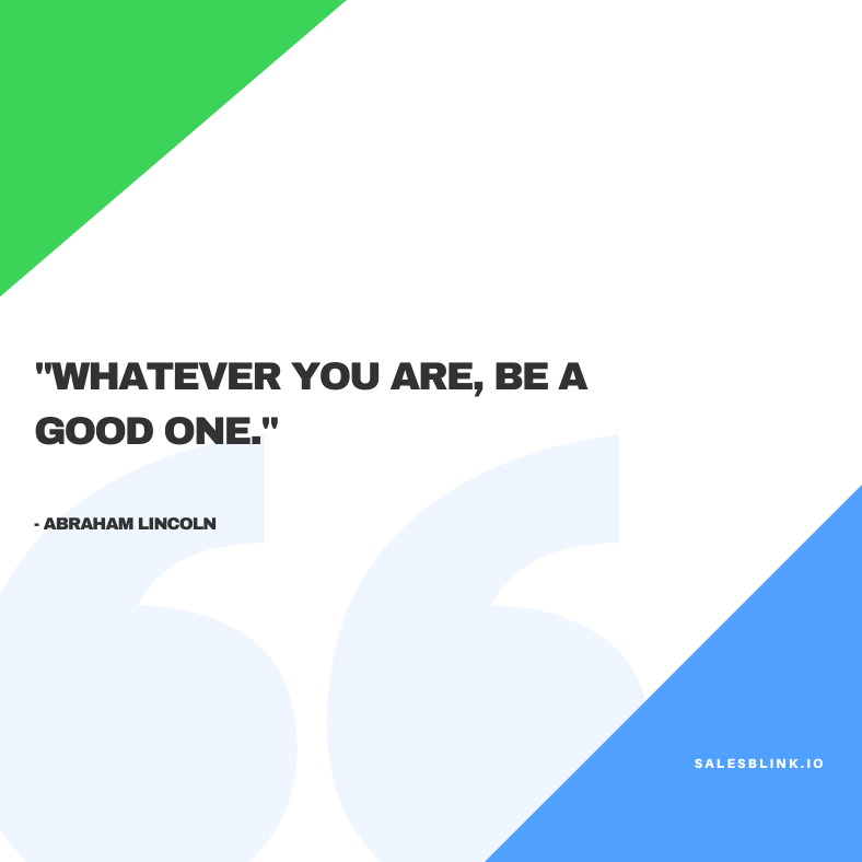 Inspirational quote by Abraham Lincoln